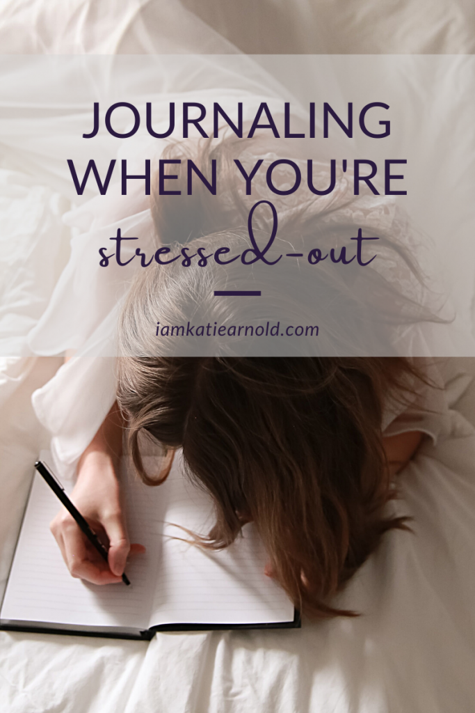 If you haven't tried turning to journaling when you're stressed out, it's a huge help! Here's how to tailor your journal practice to support you in those times of stress.